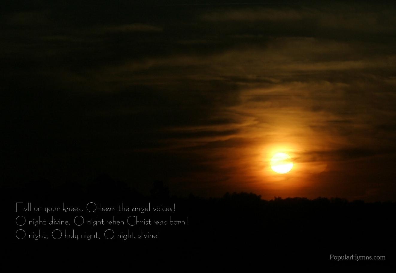 Holy Night Wallp...O Holy Night Background